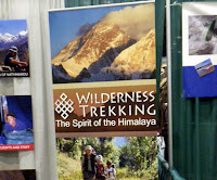 wilderness trekking poster
