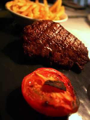 Steak at Brasserie Blanc in London