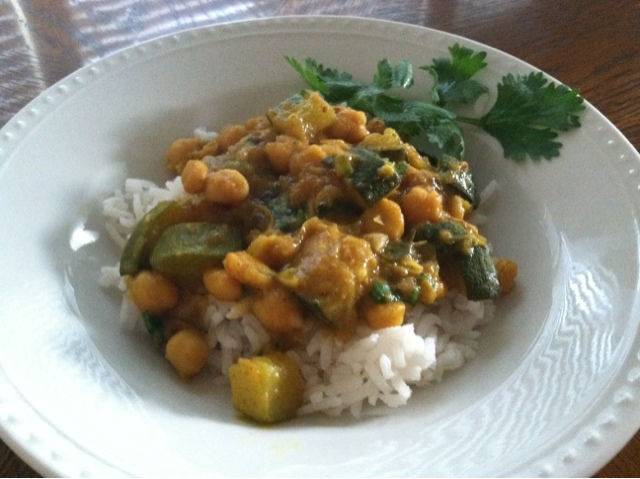 Produce Pantry: Chickpea Curry