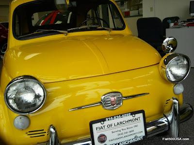 1960s Fiat 500 US Spec