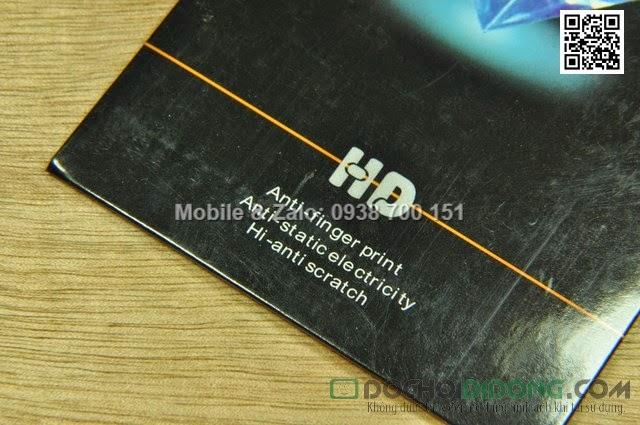 Miếng dán màn hình Gionee E6 kim tuyến