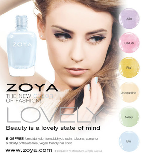 Zoya Lovely Collection For Spring 2013