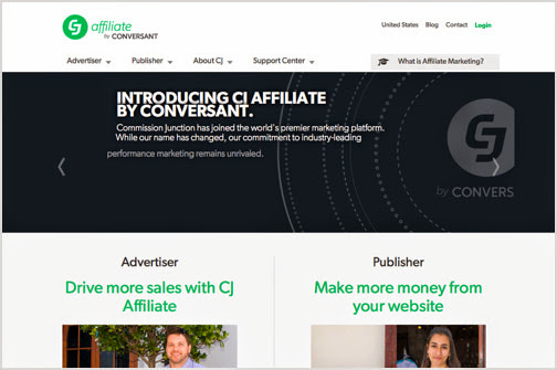 Commission Junction Affiliate Marketing Programs