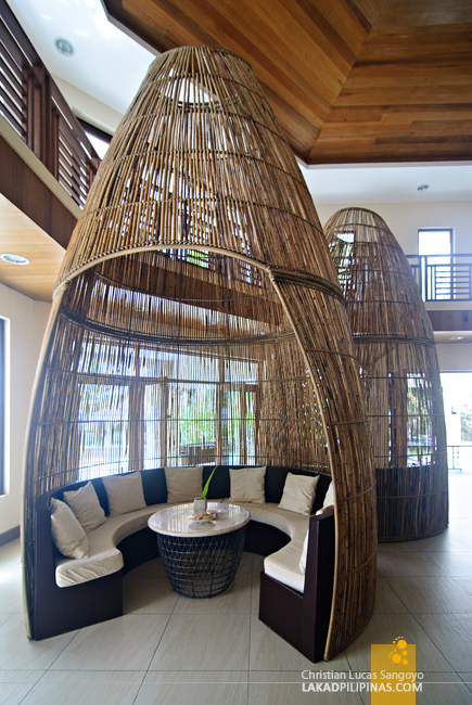 Interesting Interiors at Albay's Misibis Bay