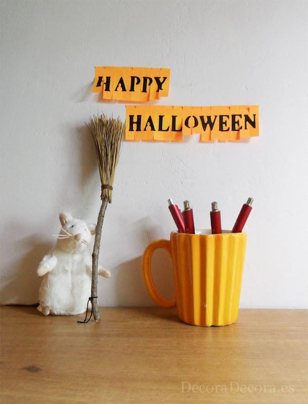Decorar Halloween oficina