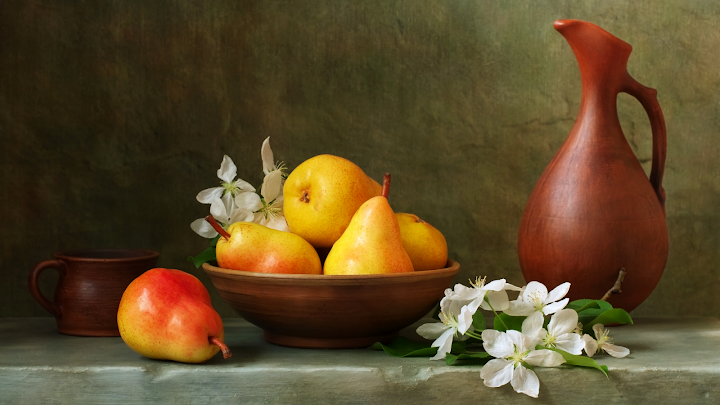 modern still life wallpaper