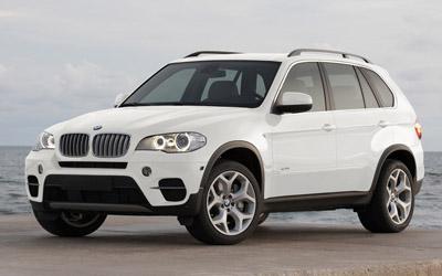 Bmw Automobiles Bmw X5 2011 White