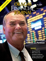 Oil & Gas Financial Journal FEB 2013 cover