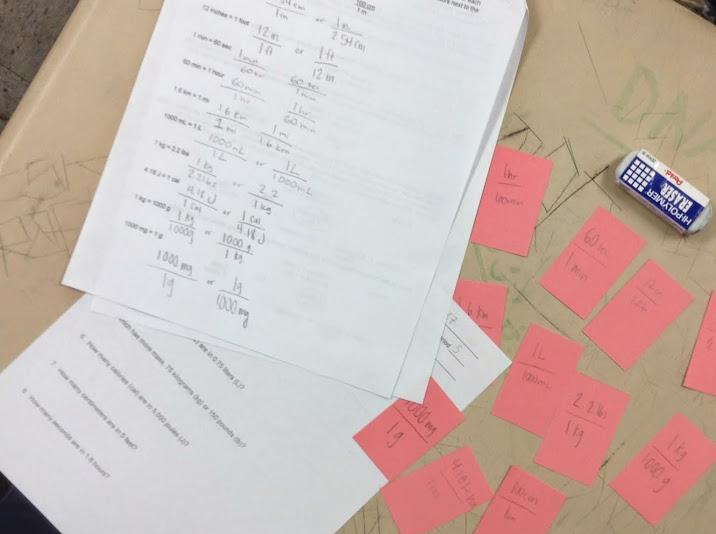 Ninth Grade Lesson Dimensional Analysis Betterlesson