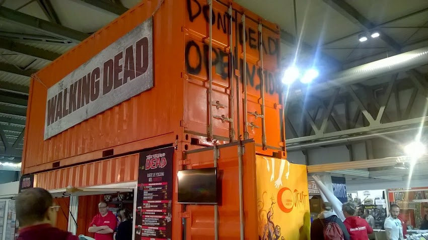 Lo stand di The Walking Dead