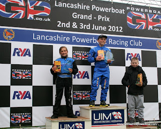 Tiegan Goodfellow LPRC driver 2nd place