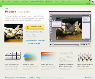 Online Image Editor on aviary.com