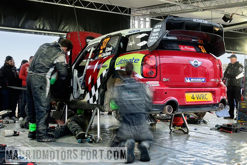 WRC Portugal 2012 Prodrive-Team
