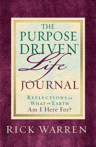 The Purpose Driven Life Journal Epub
