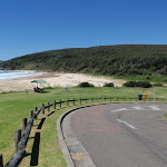 The end of Frazer Beach Rd (248128)