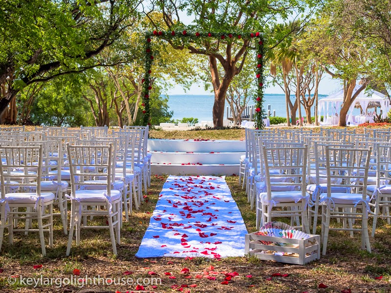South Florida Wedding Venue Garden Areas Key Largo Lighthouse Beach Weddings Florida Keys