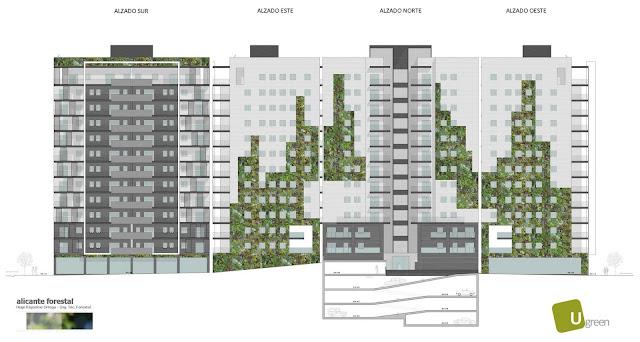 Opciones para jardín vertical en Barcelona - Opción 40 metros