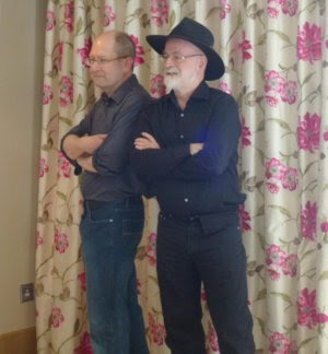 Terry Pratchett i Stephen Baxter