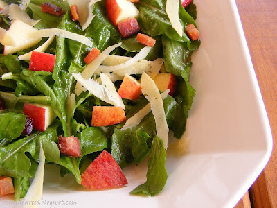 Salada de Rúcula com Maçã