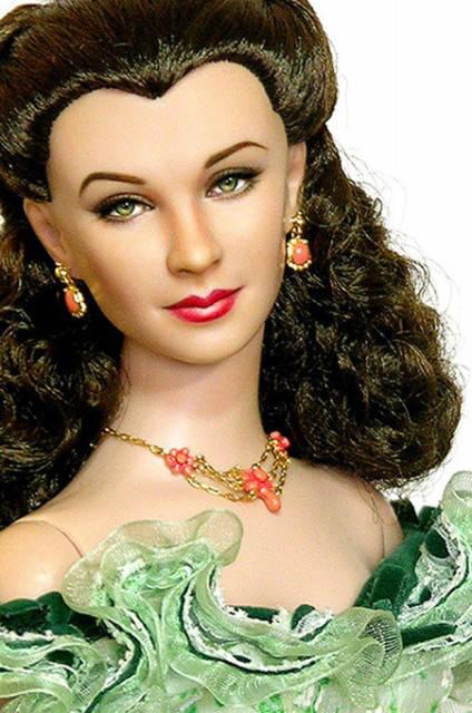 унесенные ветром – кукла скарлетт о'хара (вивьен ли) (4) – ноэль круз