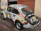 1972 Super Beetle,  Classic one of a kind Bisbee AZ art-car, ratrod