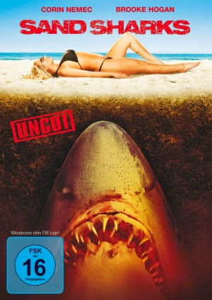 Filme Poster Tubarões na Areia DVDRip XviD & RMVB Legendado