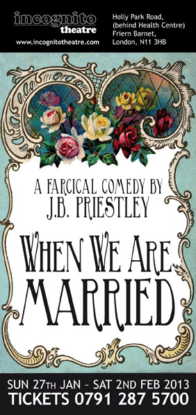 When We Are Married Flyer