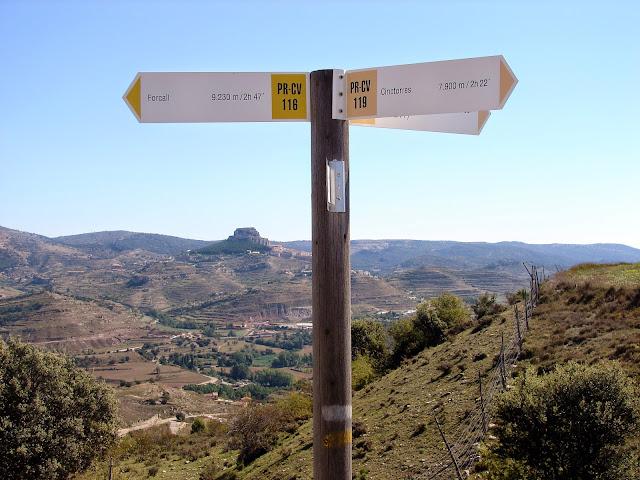 Senderismo - Forcall - PR-CV 116 - PR-CV 119 - Cinctorres- PR-CV 118