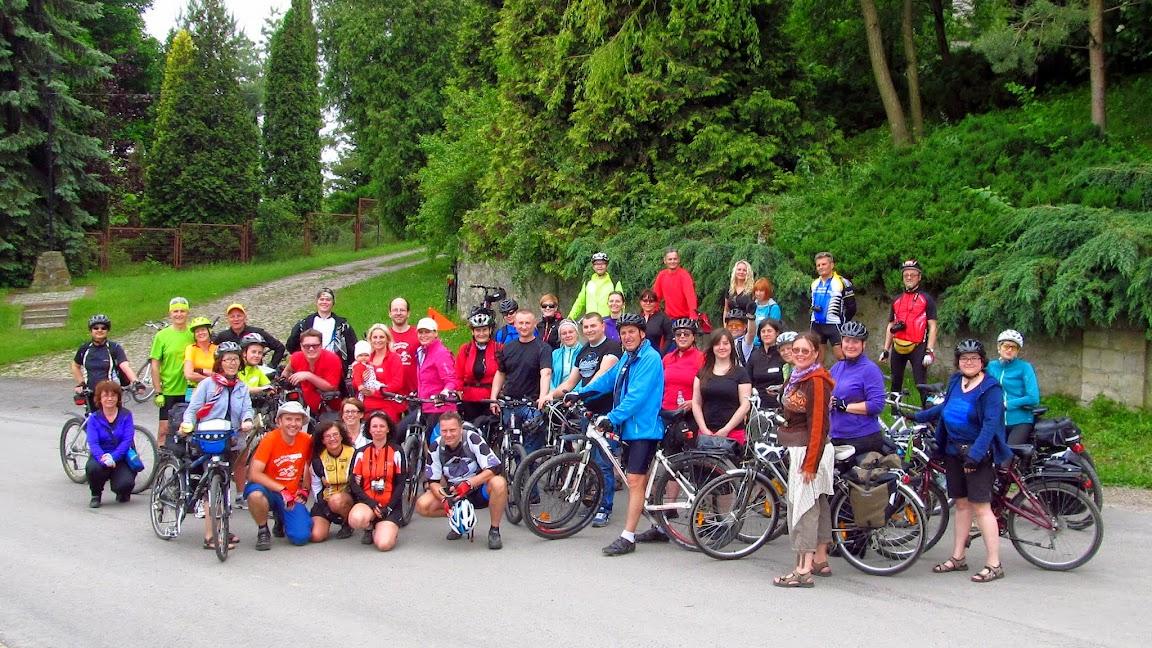 Silna rowerowa ekipa pod wezwaniem Szwendaczka
