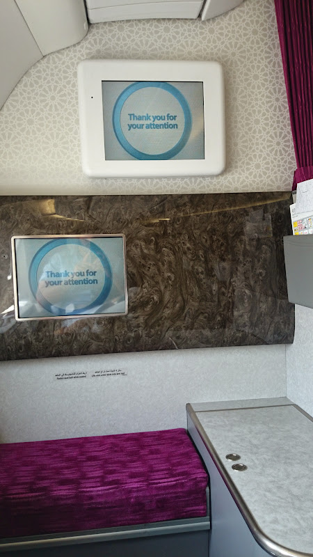 end - REVIEW - Qatar: First Class - Doha to London (A330)