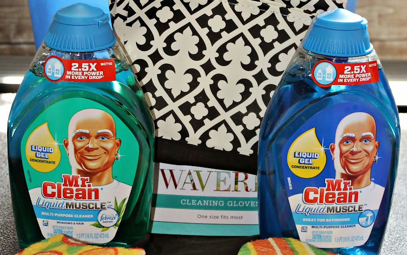 New Mr. Clean Liquid Muscle #CleanFreeWeekend