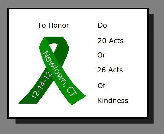 To Honor Newtown CT.