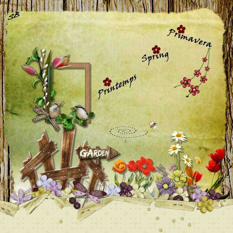 Crea pour le fun premier jour du printemps - 1er jour du printemps ...