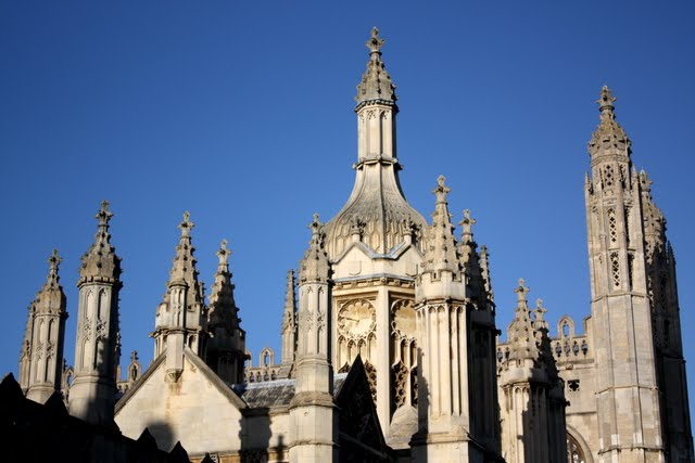 King's College chapel at Cambridge University