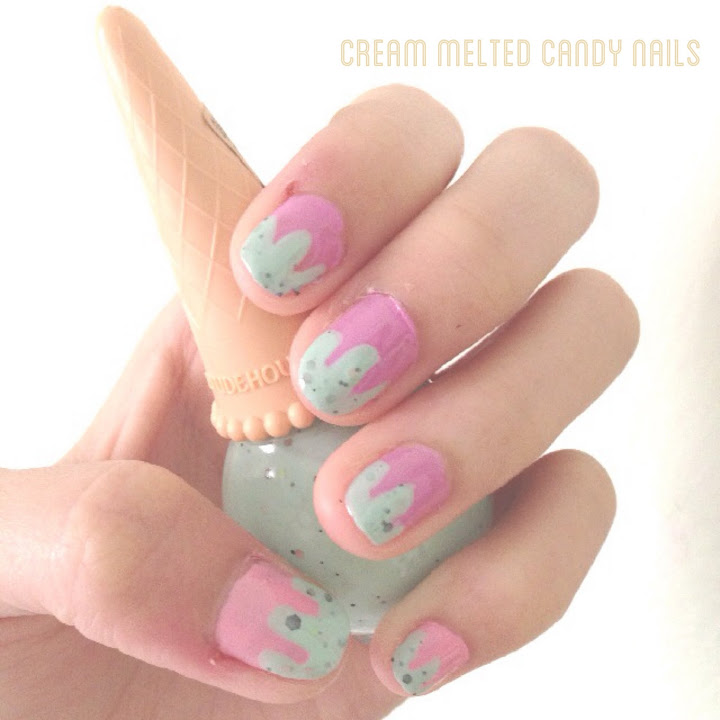 Cute Delicious Ice Cream Mani