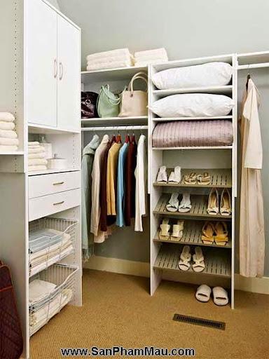 Cách trang trí tủ quần áo để được chồng khen-8