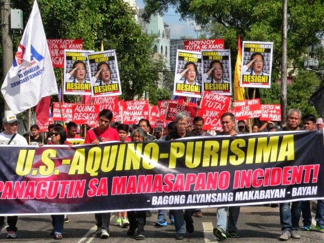Image of There are series of protest conducted before the celebration of the EDSA People Power on February 25 led by the group that wants to oust President Aquino.