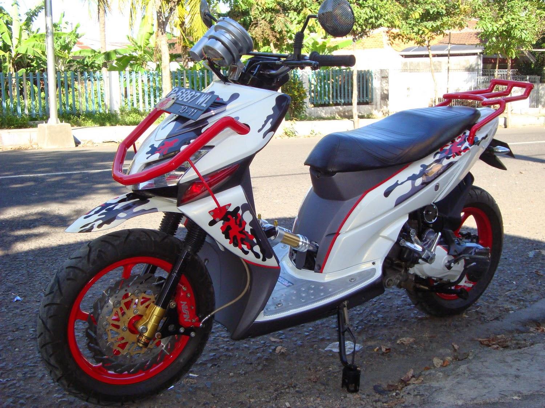 Honda Win Modifikasi Skutik