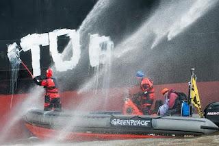 Greenpeace une ONG au service de la planète