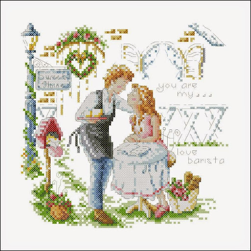 You are my lovecross stitch pattern