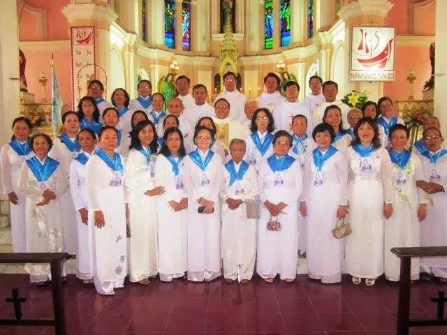 Giáo Hạt Ninh Phước: Giới Hiền Mẫu Mừng Lễ Thánh Mônica