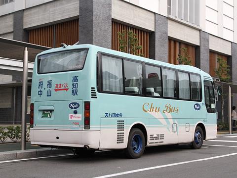 中国バス「オーシャンライナー」 日野リエッセ リア