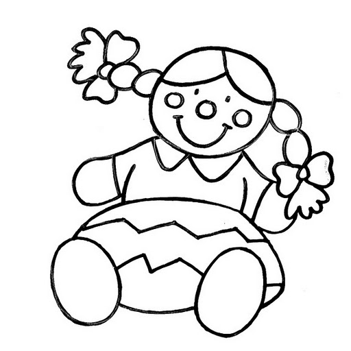 rag dolls printable coloring pages - photo#14