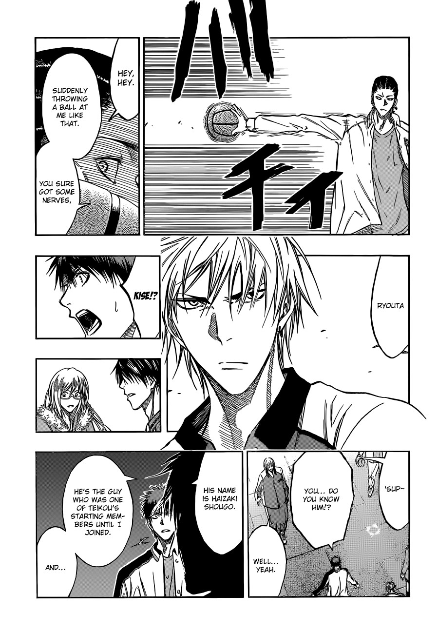 Kuroko no Basket Manga Chapter 170 - Image 11