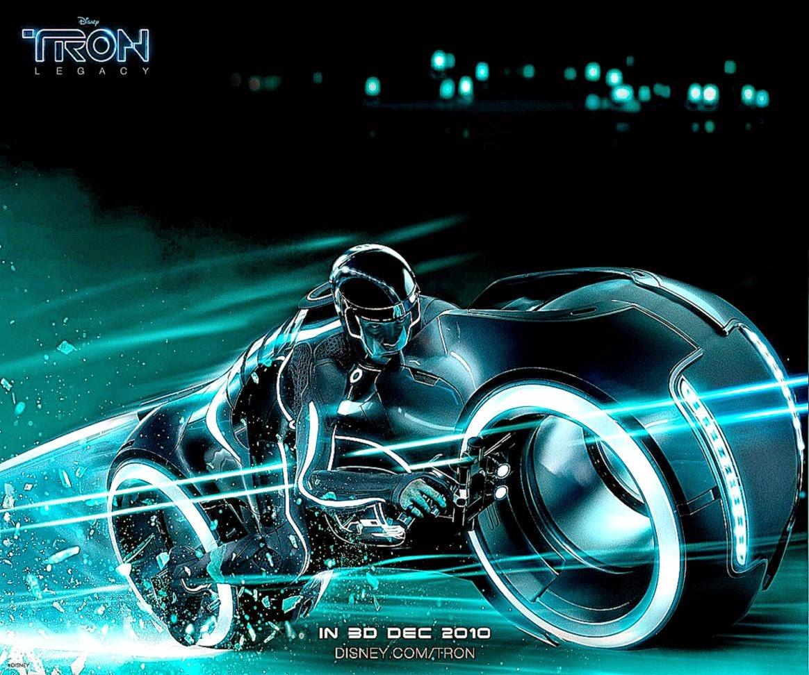 Wallpaper 3D Bike Tron Legacy Download