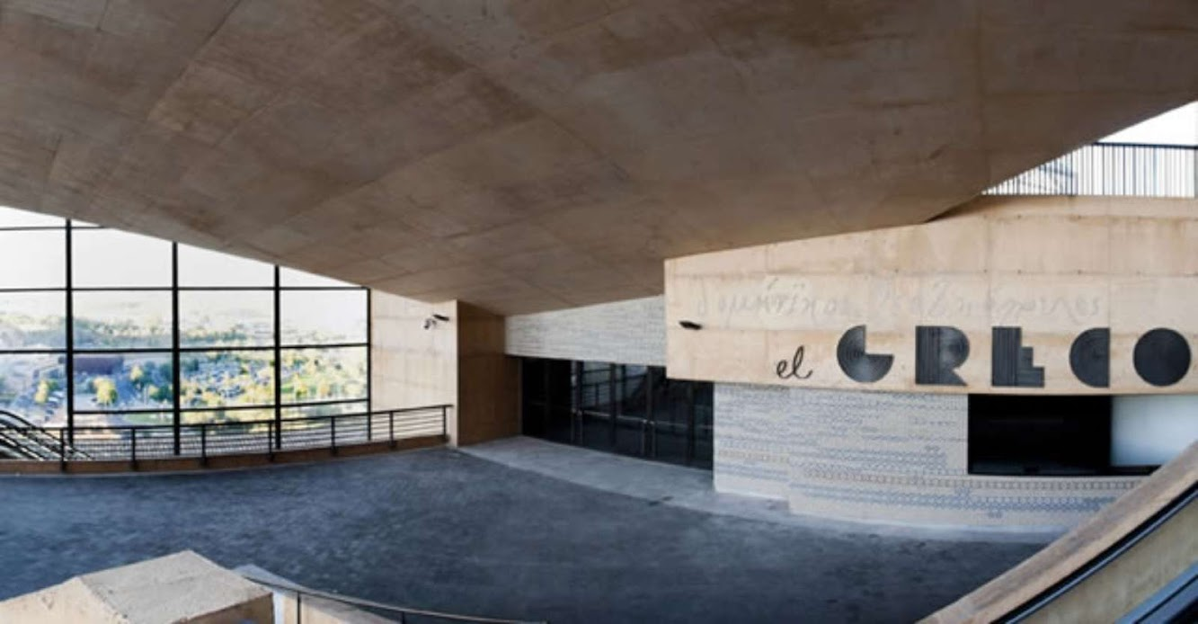 El Greco Congress Center by Rafael Moneo