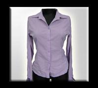 Blusas de oficina para mujer color mora