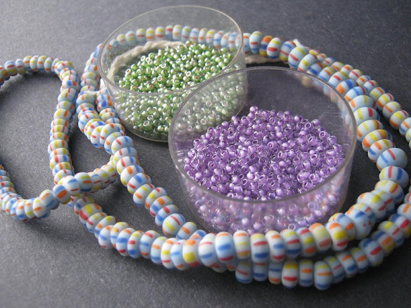 Spring Trade Bead Color Idea