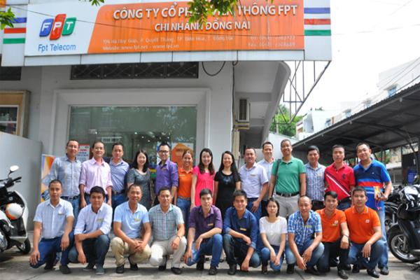 Công ty FPT Đồng Nai Dẫn Đầu Về Số Lượng Khách