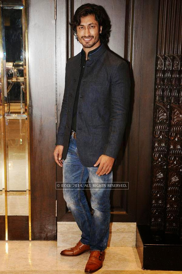 Vidyut Jamwal during the birthday celebration, held at The Leela Palace, in Chennai.